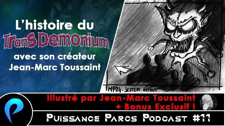 Episode 11 – (OVER-RIDE) Le Transdémonium avec son concepteur Jean-Marc Toussaint [+ BONUS EXCLUSIF]