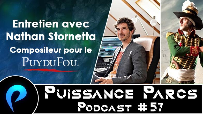 Episode 57 – (BACKSTAGE) Entretien avec Nathan Stornetta, compositeur pour le Puy du Fou