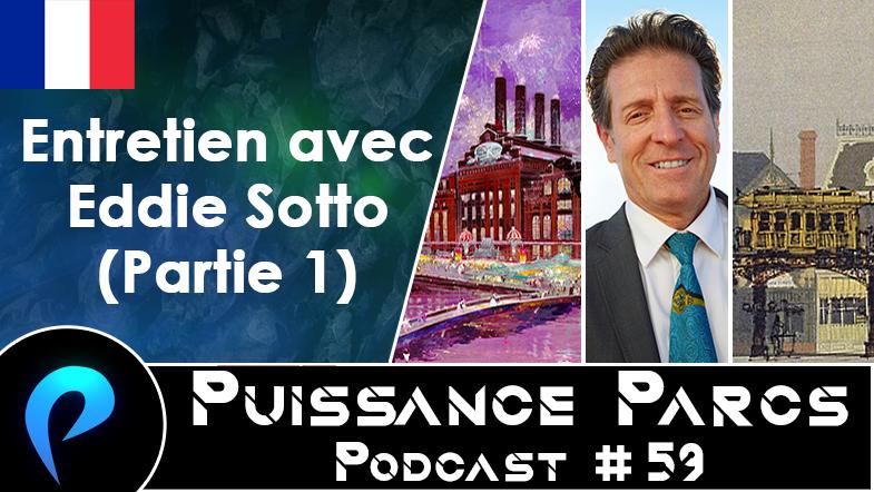 Episode 59 – (BACKSTAGE) Entretien avec Eddie Sotto (Partie 1)