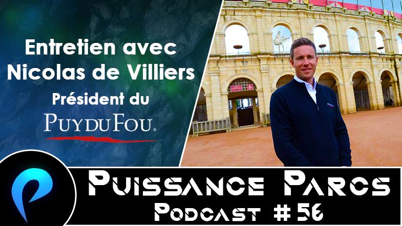 Episode 56 – (BACKSTAGE) Entretien avec Nicolas de Villiers