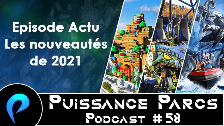 Episode 58 – (ACTU) Les nouveautés prévues en 2021